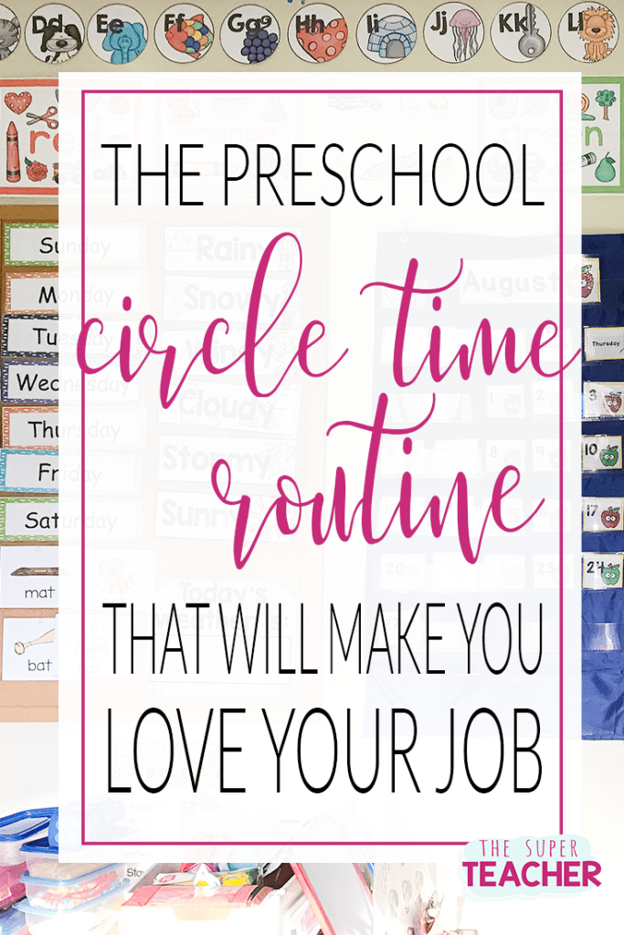 The Preschool Circle Time Routine That Will Make You Love Your Job