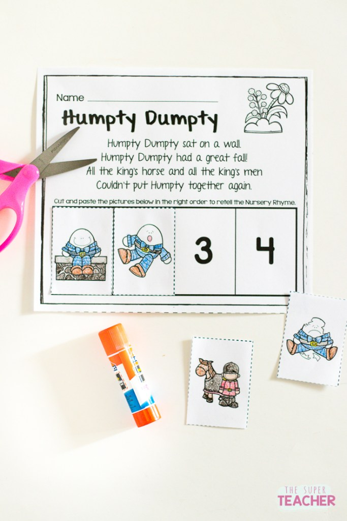 Img on story sequencing preschool printables
