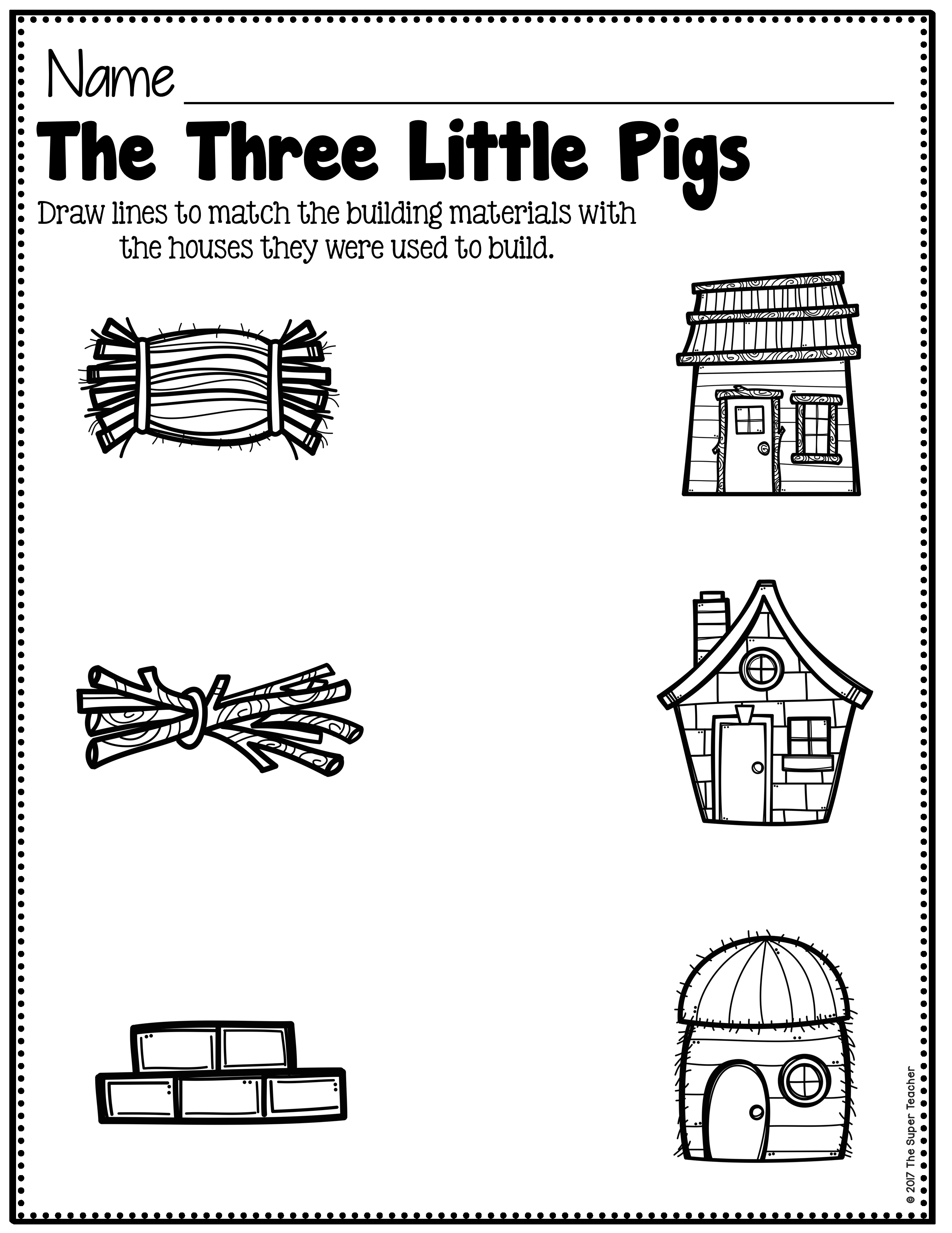 hight resolution of The Only Way to Use Worksheets in Preschool – The Super Teacher