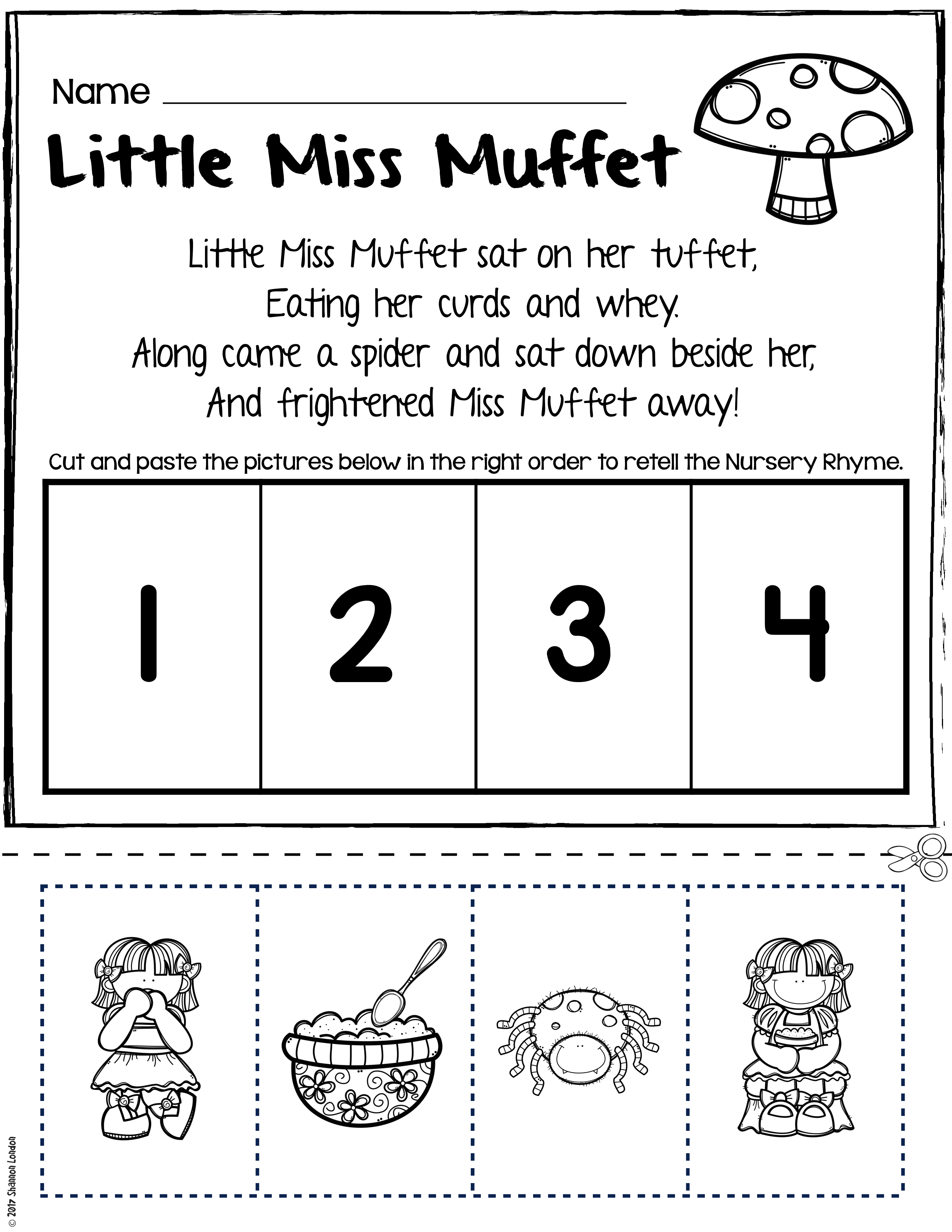 It's just a graphic of Current Printable Nursery Rhyme