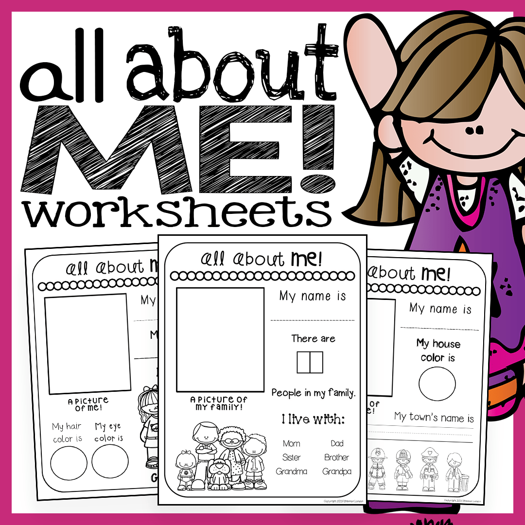 All About Me Worksheets – The Super Teacher [ 1080 x 1080 Pixel ]