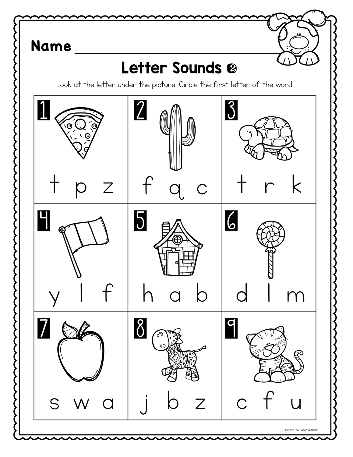 small resolution of Letter Sound Worksheets – The Super Teacher