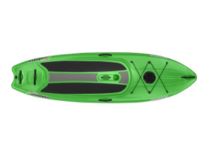 Sun Dolphin Seaquest 10 paddle board in green color