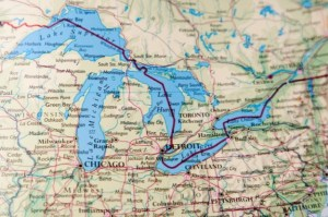 Stand Up Paddle Board In The Great Lakes