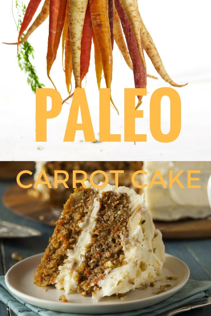 Paleo Carrot Cake Pinterest Pin