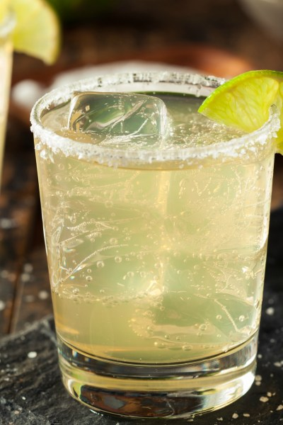 A Healthy Margarita:  Agave Lime Margarita