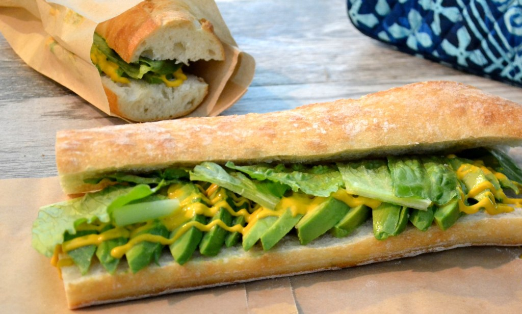 Avocado and Lettuce Sandwiches | A simple sandwich with big taste. One of my favorites. www.thesurferskitchen.com