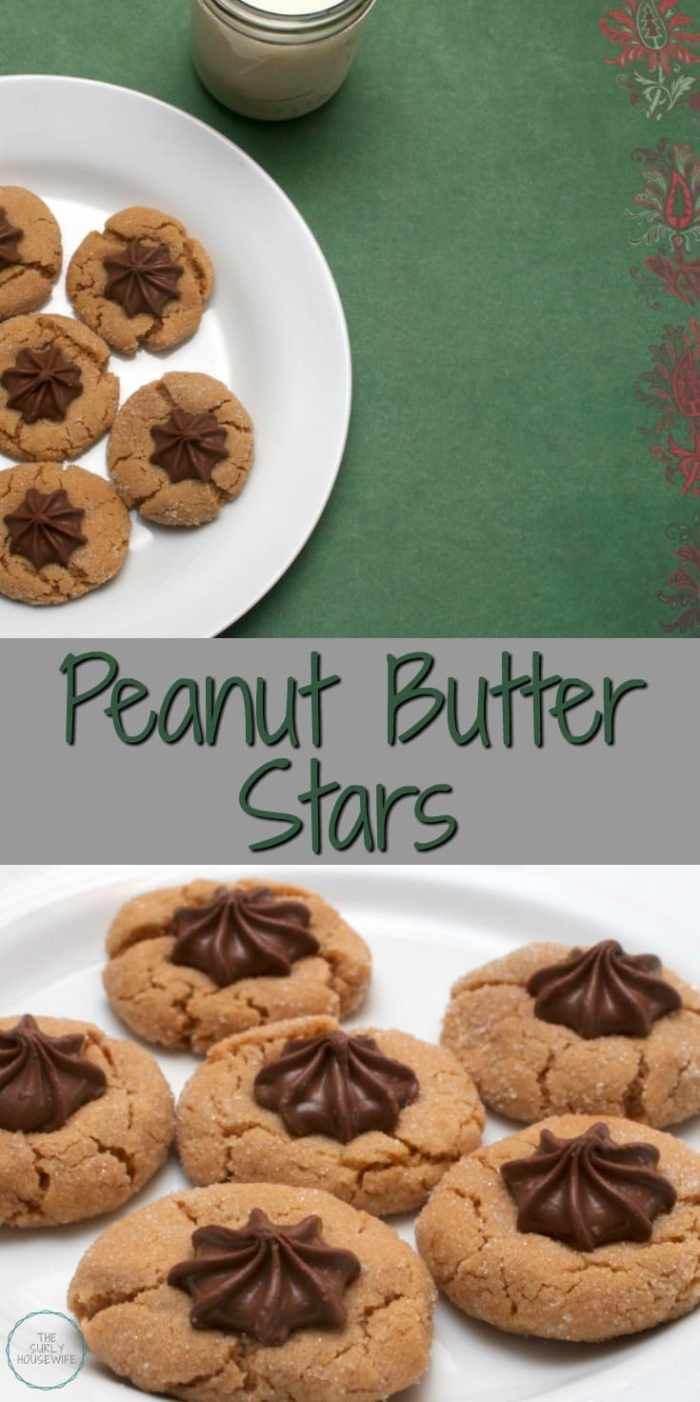 Peanut butter blossoms are an essential cookie to make during Christmas time. I make mine a little bit different, but they are just as delicious! This easy recipe makes the BEST peanut butter star cookies. The best thing about these cookies are that even kids can make them. Super simple!
