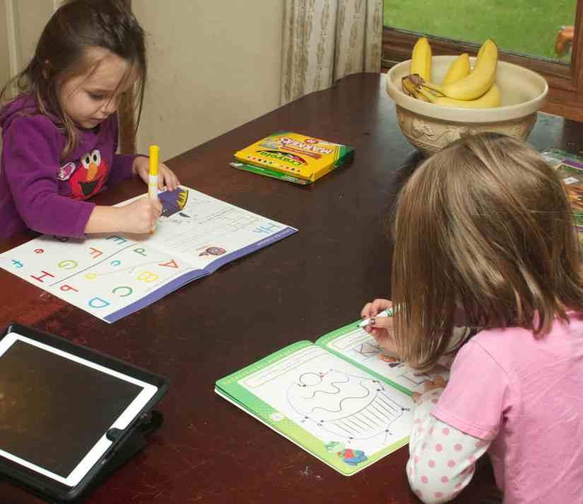 homeschool preschool activities workbooks