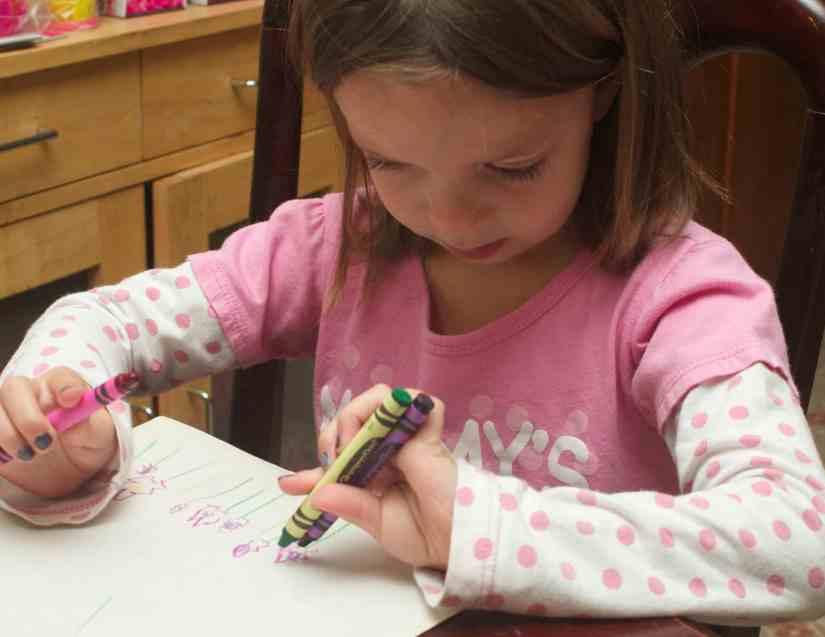 homeschool preschool activities coloring