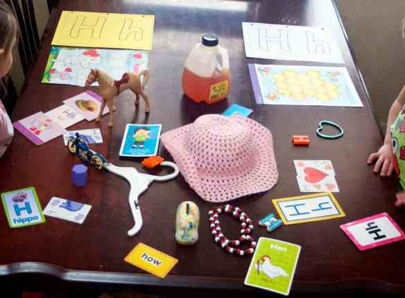 H is for ? ? ? Look for Letter H crafts for your preschooler? This post is all about the Letter H: hearts, hands, and hippos!