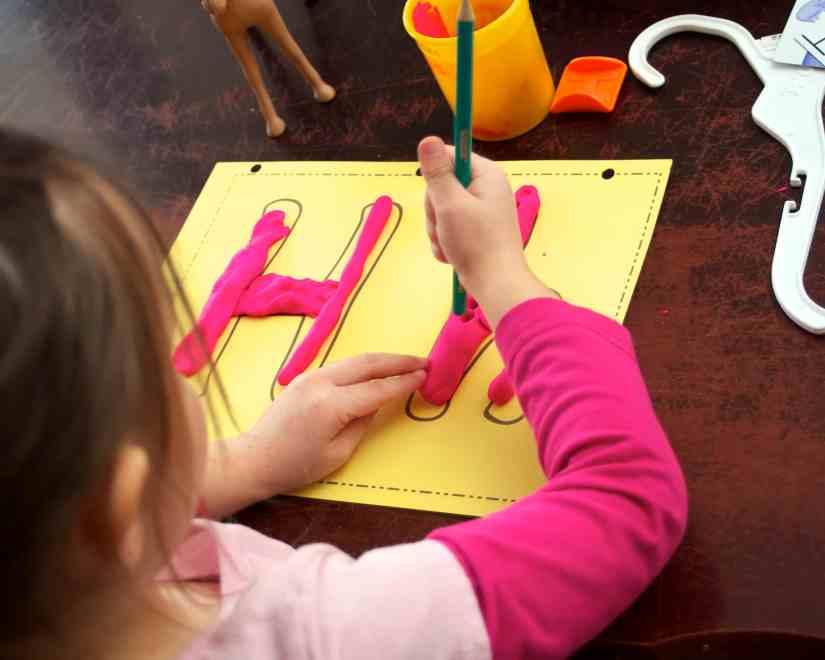 Letter H alphabet activities