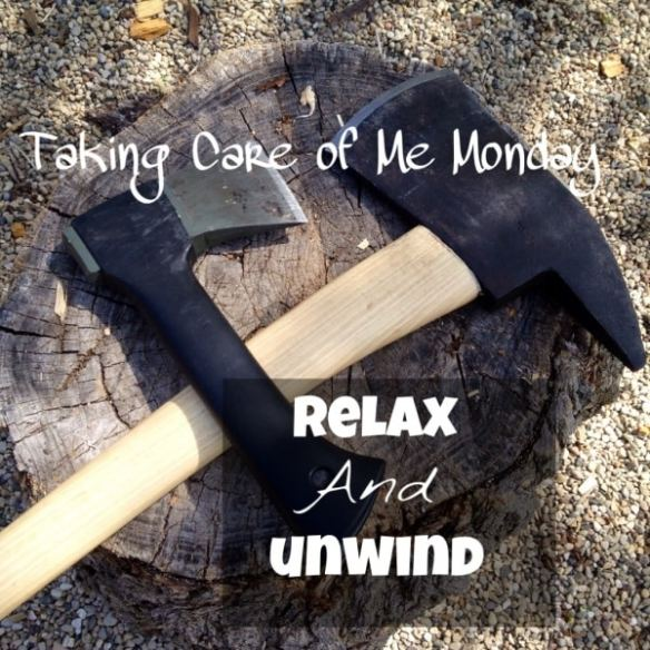 Some women relax and unwind with a glass of wine. Others prefer pedicures. What I like to do involves axes and burning stuff. Click here to read more!