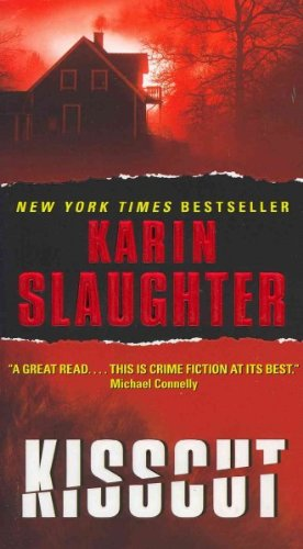 """""""Kisscut"""" Karin Slaughter is the second book in the Grant County series. This dark and gruesome book is a must read for any fan of thriller novels. Check out more here!"""