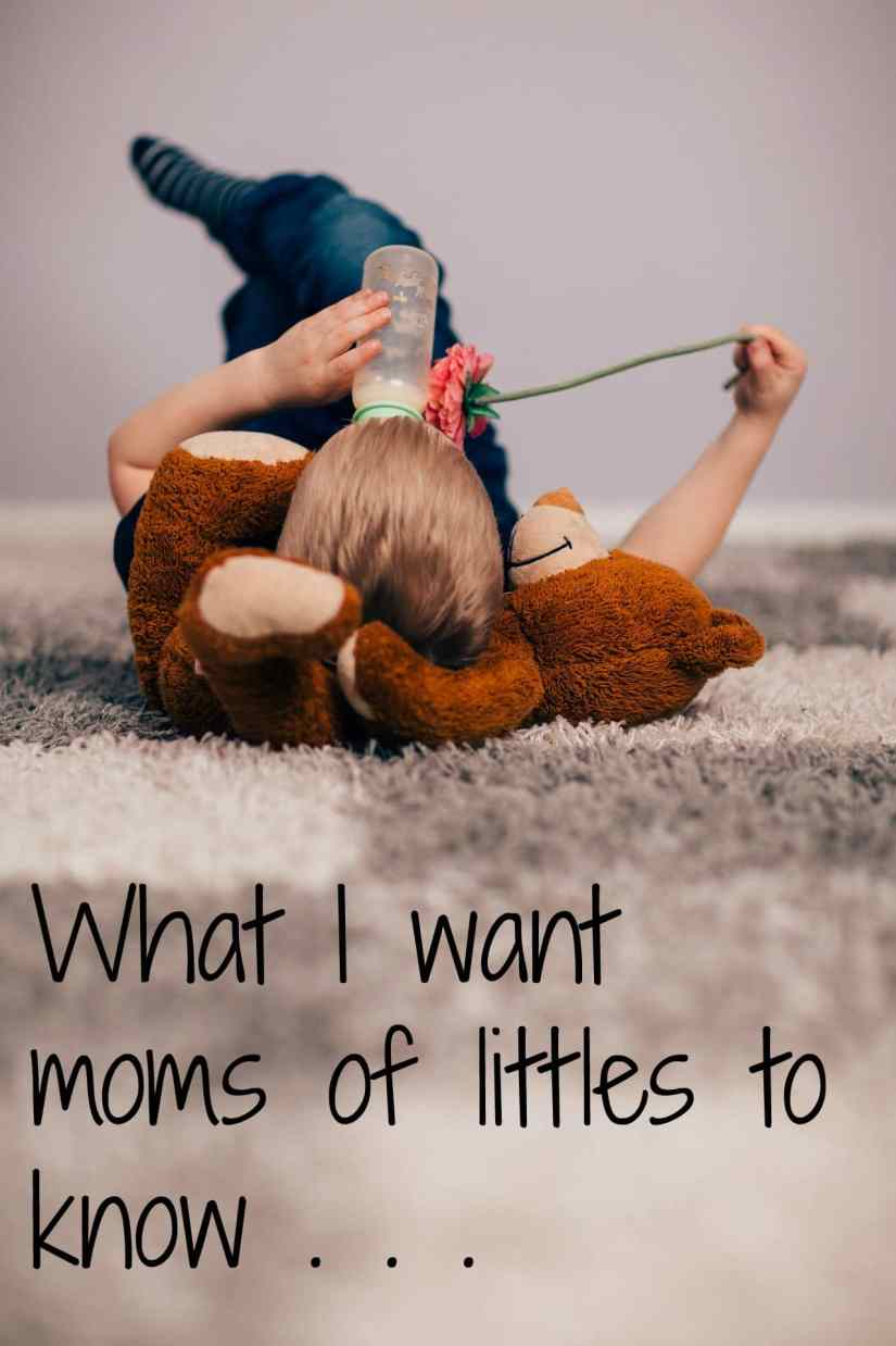 Are you looking to be a better mom? Looking for some motherhood encouragement and advice? Check out this post on a realization I had that changed my whole perspective.