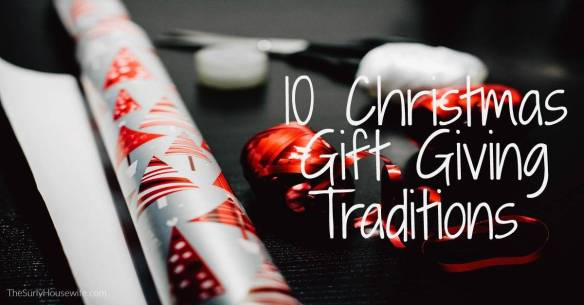 Christmas shopping for kids is made so much easier by having Christmas gift traditions in place. Click here for 10 Christmas gift giving ideas!