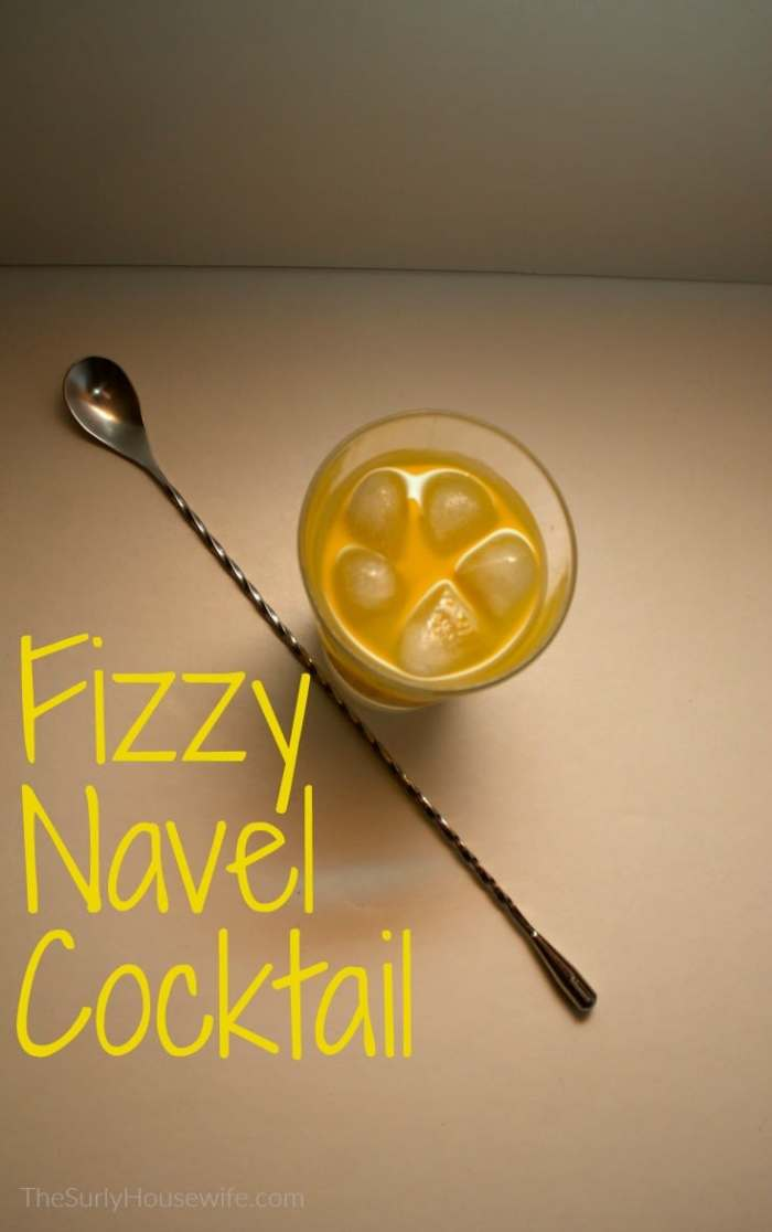 The fizzy navel cocktail is an easy cocktail recipe which closely resembles the screwdriver. Check out this post for a refreshing twist on a classic.