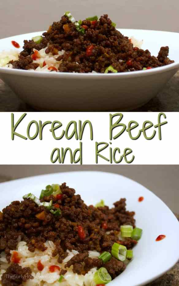 This easy Korean beef recipe uses ground beef so it is the perfect weeknight meal. It's fast, easy, and satisfying!