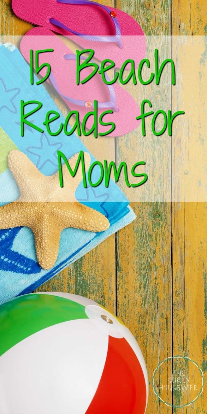 Poolside Reading List | Summer Beach Reads | Summer Beach Reading List | Reading list for moms | Easy Beach Reads