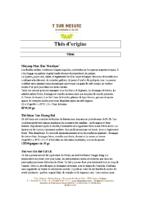 Liste de thés mai 2018