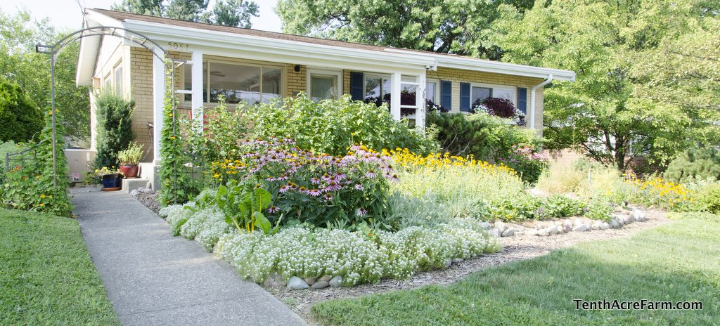Beautiful Edible Front Yards  Pictures