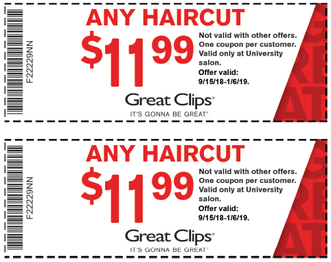 Mobile Great Clips Coupons Actual Coupons