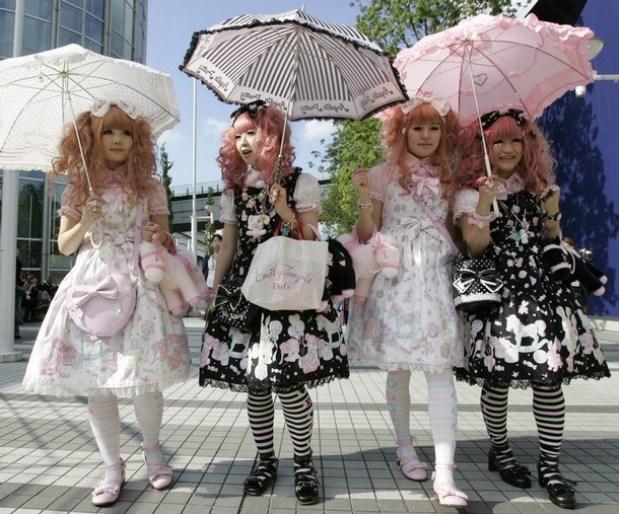 Verschillende Lolita Jurkjes. Foto via SDC Blog.