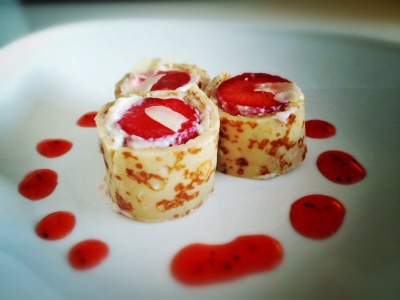 Japans Toetje - Pannenkoek Sushi