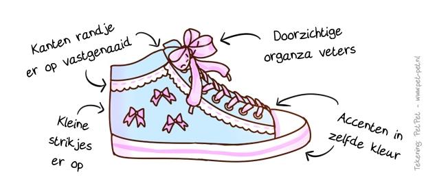 Fairyschattig schoen