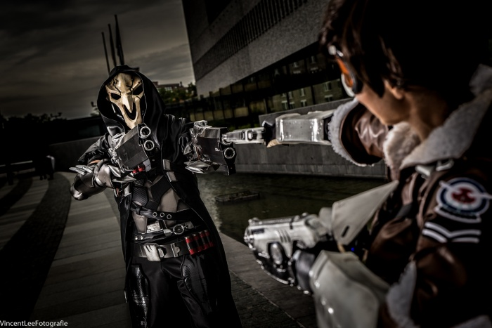 Cosplays door Deathstrike Cosplay en SakuraFlor Arts en Cosplay. Foto door Vincent Lee Fotografie.