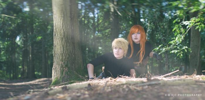 Cosplays door Jaselant Cosplay en Gryphinic Cosplay. Foto door KJC Photography.