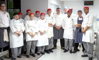 Chichester College Catering Students