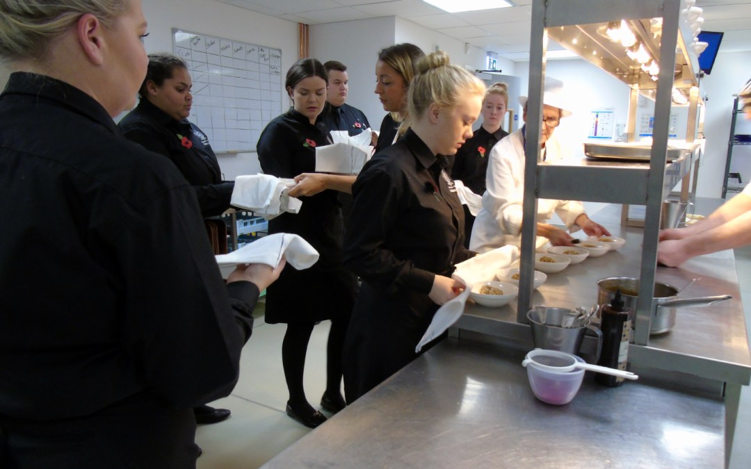 Chichester College Pop-Up Dining Event 2017