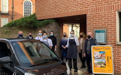 Over 900 hot meals delivered to older, lonely and vulnerable people in Chichester