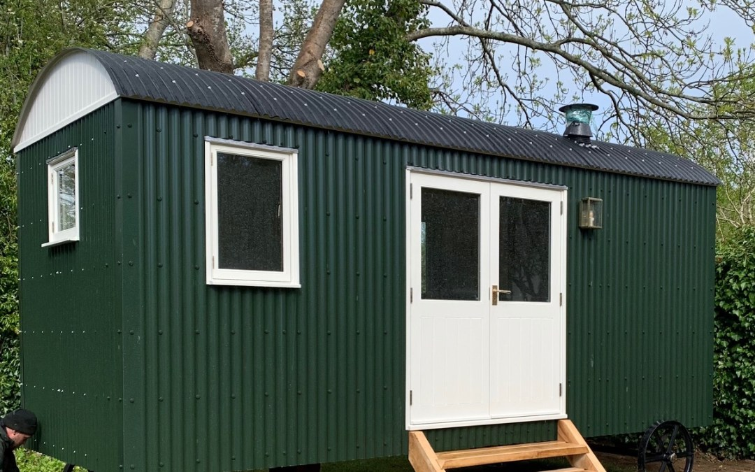 Shepherds Huts have never been so cool!