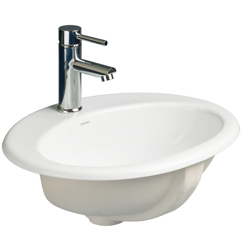 chartham 530 cth countertop basin