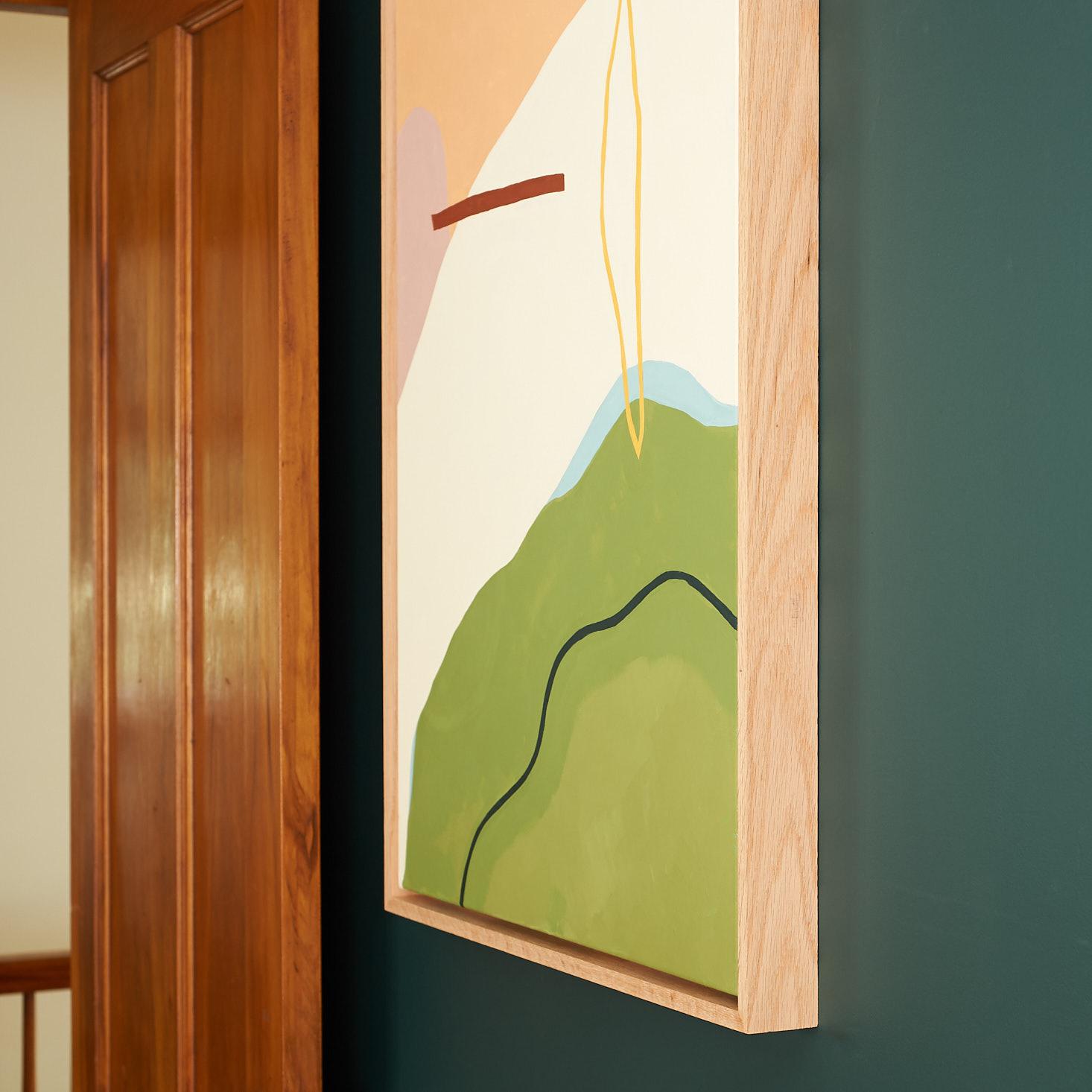 diy wood canvas float
