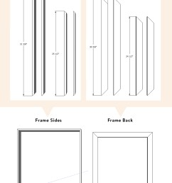 diy wood canvas float frame the sweet beast wiring diagram 3 way it canvas print [ 1466 x 2200 Pixel ]