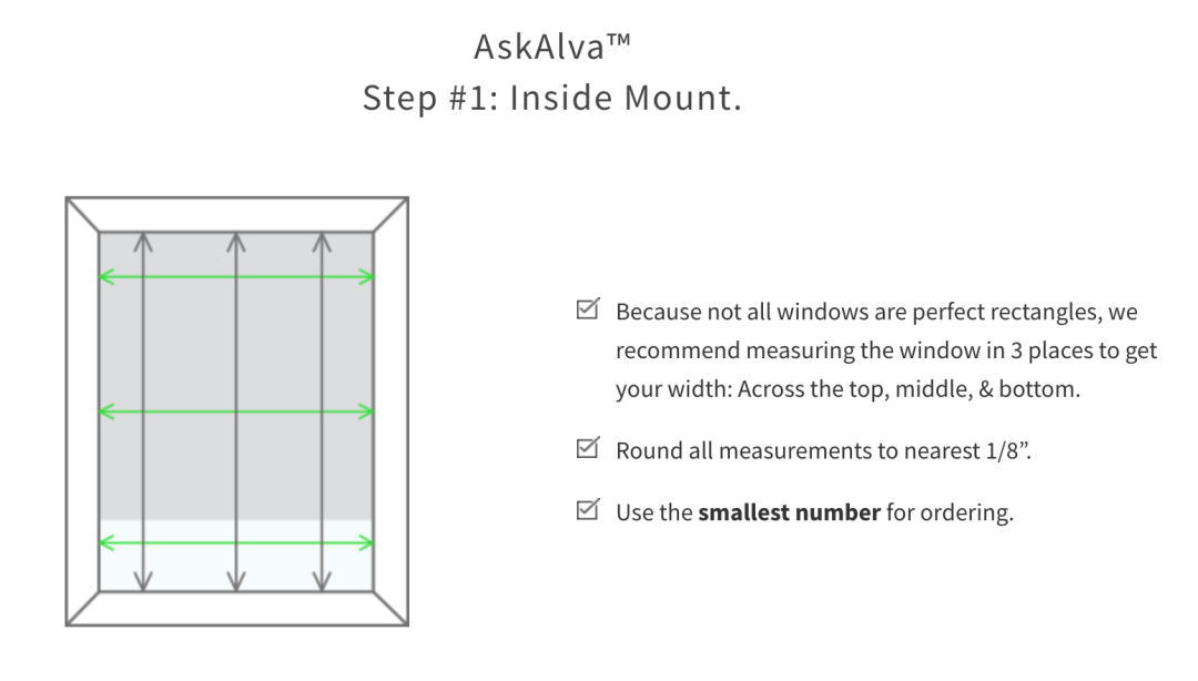 how to measure for custom window shades