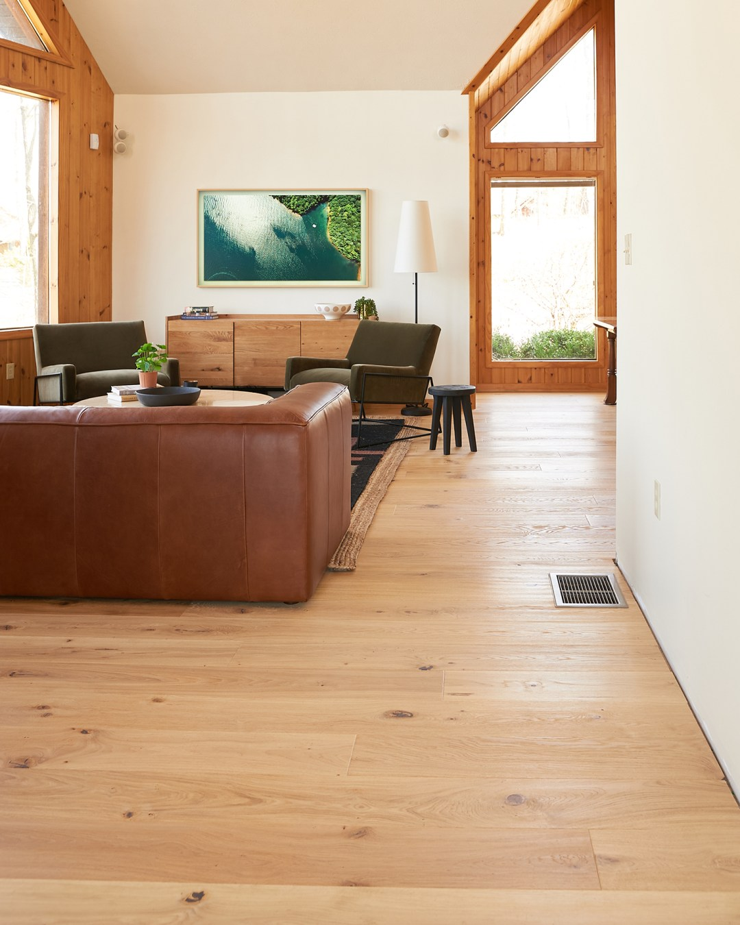 Stuga Kahrs Flooring Shell Finish Installed