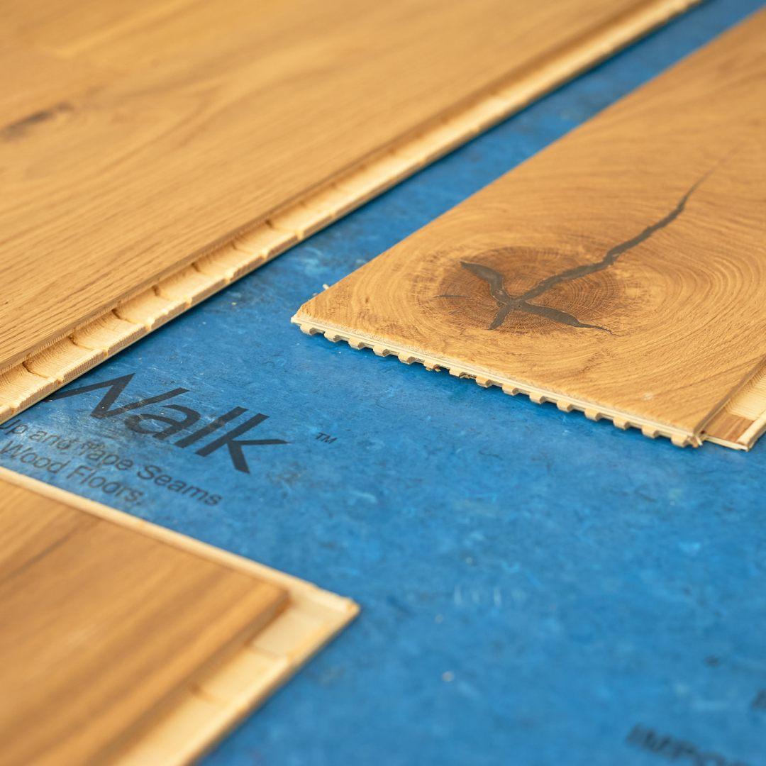 Stuga Kahrs Flooring Locking System Detail