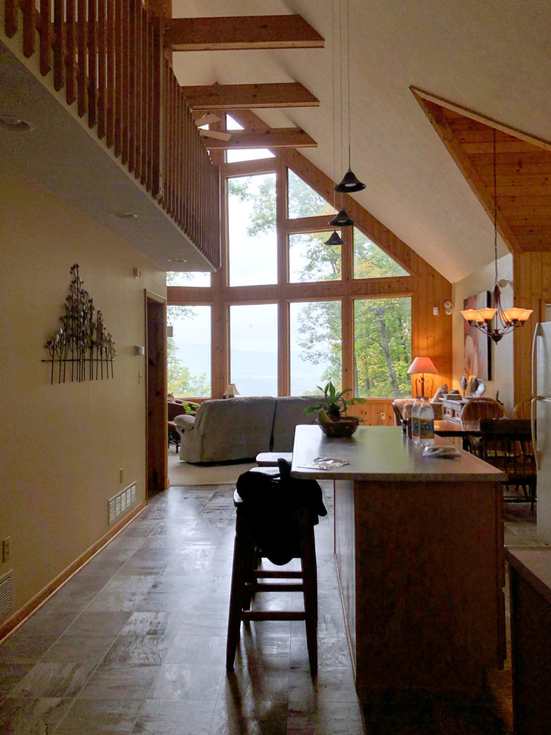 Open Floor Plan Cabin