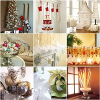 holiday decorating tips 2017 - Grasscloth Wallpaper