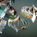 Paper garlands ornaments by bookity the sweetest occasion the