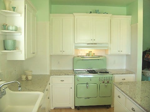 antique green kitchen cabinets Vintage Greens on Pinterest | Alarm Clock, Green and Lime