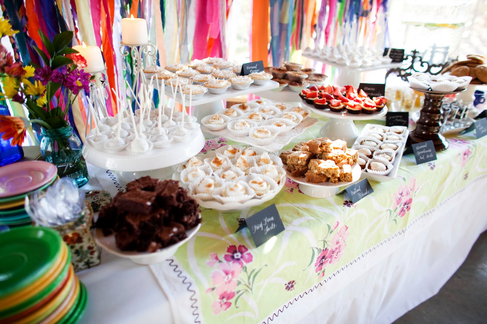 Homemade Dessert Buffet  The Sweetest Occasion