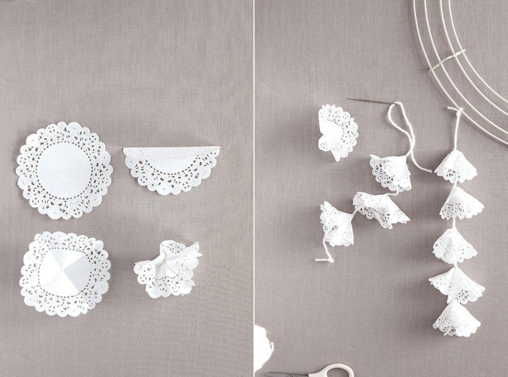 Diy Paper Doily Craft Ideas From Martha Stewart Weddings