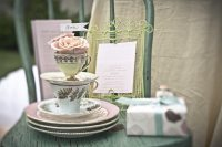 Pretty Tea Party Bridal Shower Inspiration - The Sweetest ...
