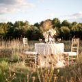 Country chic fall wedding inspiration the sweetest occasion the
