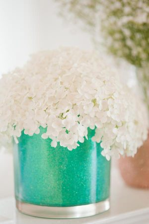 DIY glitter vases from The Sweetest Occasion